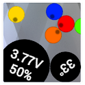 Vbatt - battery widget