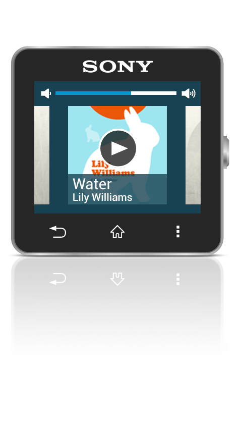 Music Player Smart Extension - screenshot