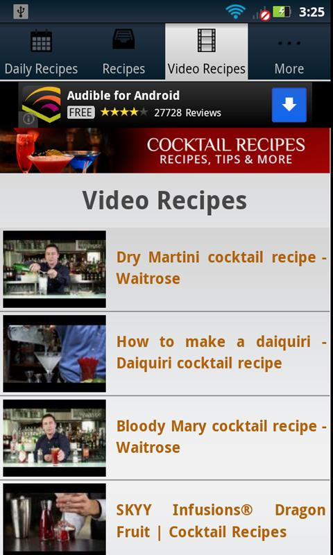 Cocktail Recipes!- screenshot