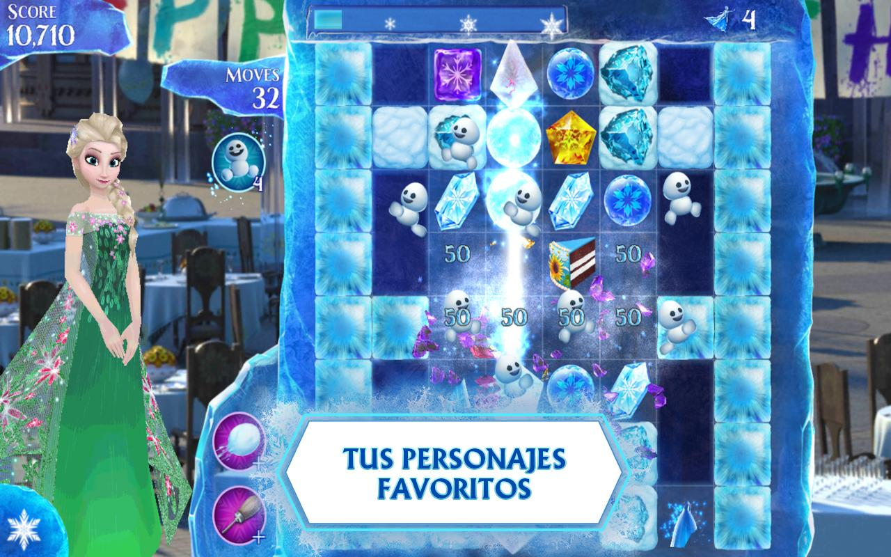 Frozen Free Fall - screenshot