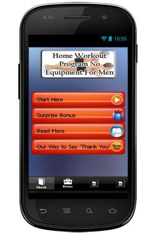 Home Workout Program For Men