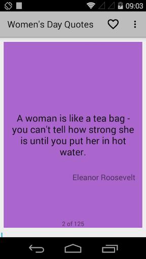 Women's Day Quotes App