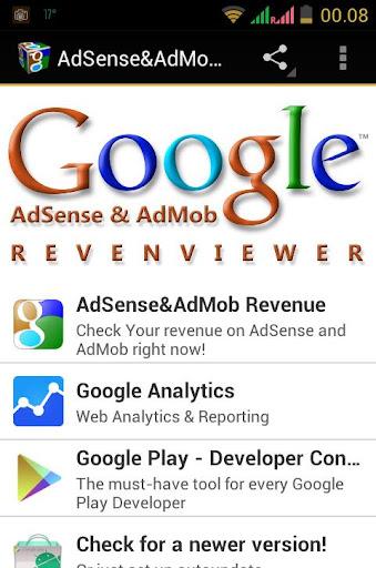 AdSense AdMob Revenviewer