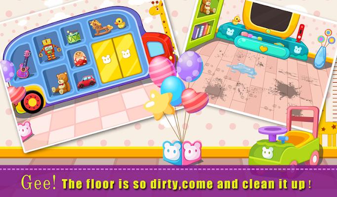 Baby Living Room - screenshot