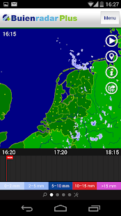 Buienradar - screenshot thumbnail