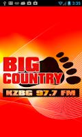 Screenshot of Big Country 97.7