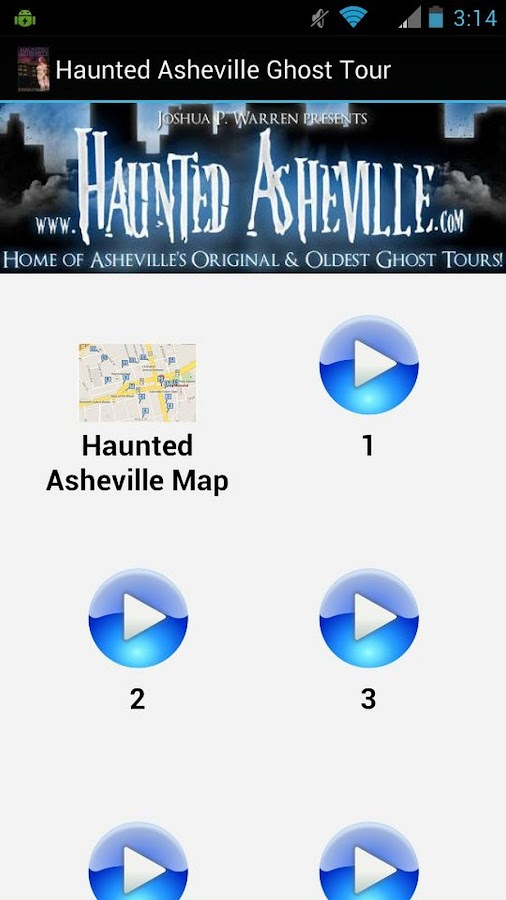 Haunted Asheville Ghost Tour- screenshot