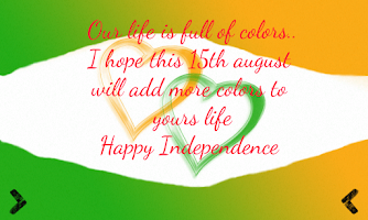 Screenshot of 15 Aug- Independence greetings