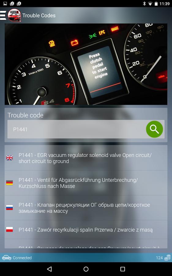 obdii car diagnostics obd obd2 android apps on google play. Black Bedroom Furniture Sets. Home Design Ideas