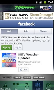 Tornadoes KETV NewsWatch 7 - screenshot thumbnail