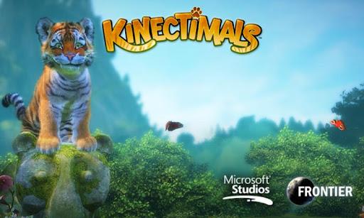 Kinectimals - воспитывайте тигренка