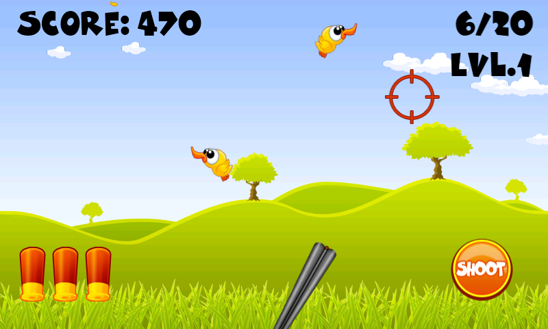 Hunt the Duck- screenshot