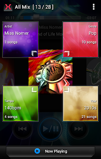 MIXTRAX App - screenshot thumbnail