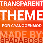 Transparent Orange -CM12 Theme v3.1