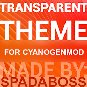 Transparent Orange -CM12 Theme