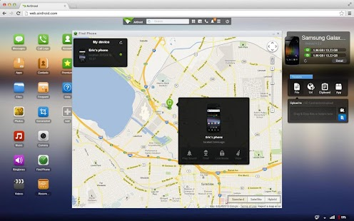 AirDroid - screenshot thumbnail