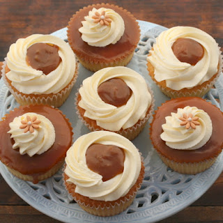 Vanilla Caramel Cupcakes Recipes.