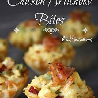 Chicken Artichoke Bites.