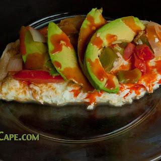 Quick Healthy Egg-White Omelet