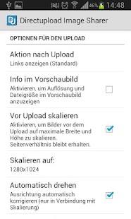 Directupload.net Image Sharer: Bilder unter Android einfach teilen
