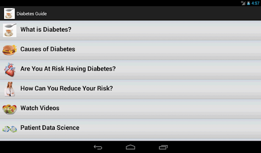 Diabetes Guide- screenshot thumbnail