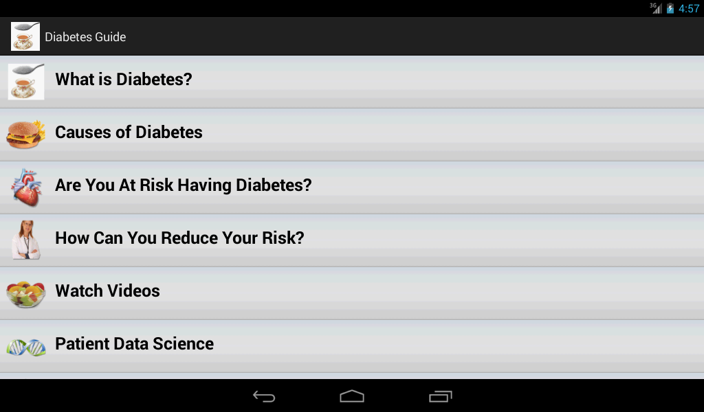 Diabetes Guide- screenshot