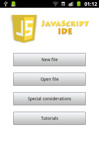 JavaScript IDE for Js HTML5