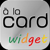 à la card Widget
