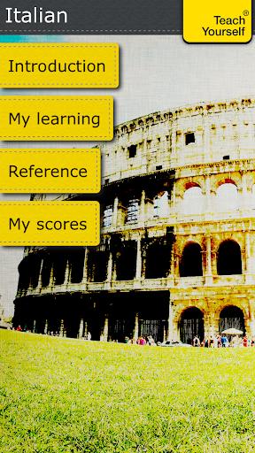Italian course: Teach Yourself