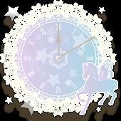 パステルフェアリー☆アラームクロック【時計ウィジェット】