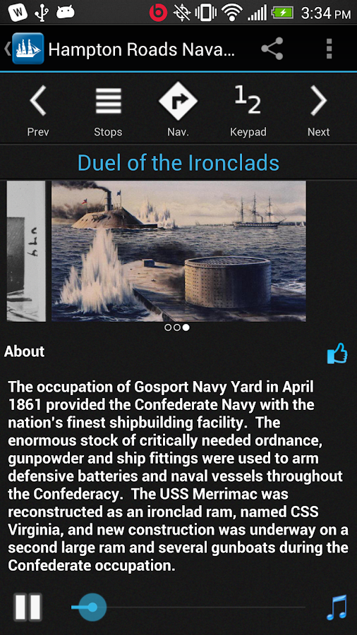 Hampton Roads Naval Museum- screenshot