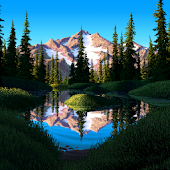 Live Wallpaper - Mirror Pond