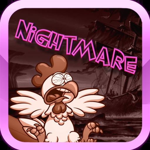 Crazy Chicken NightMare LOGO-APP點子