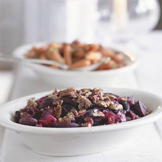 Glazed Beets and Cabbage With Pepper-Toasted Pecans