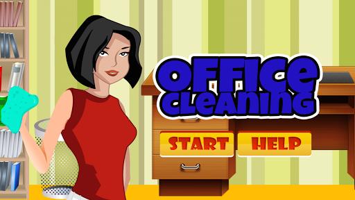 Juego de limpieza de oficina