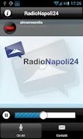 Screenshot of Radio Napoli 24
