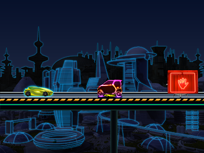 Neon Car Race Blitz F1 - screenshot thumbnail