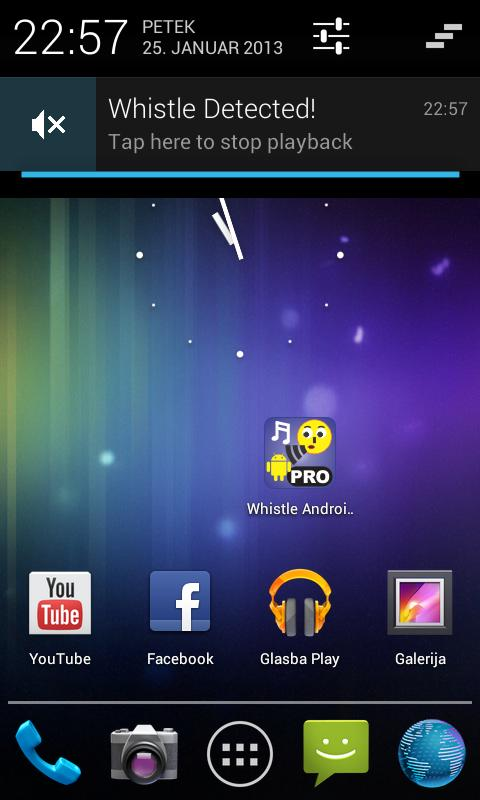 Whistle Android Finder PRO - screenshot