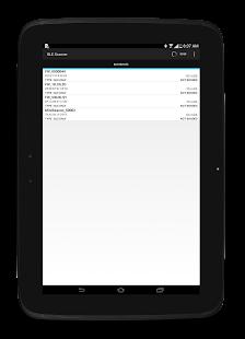 7 BLE Scanner: Read,Write,Notify App screenshot