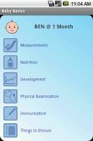 Screenshot of Baby Basics