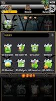 Screenshot of Halloween GO Launcher EX Theme