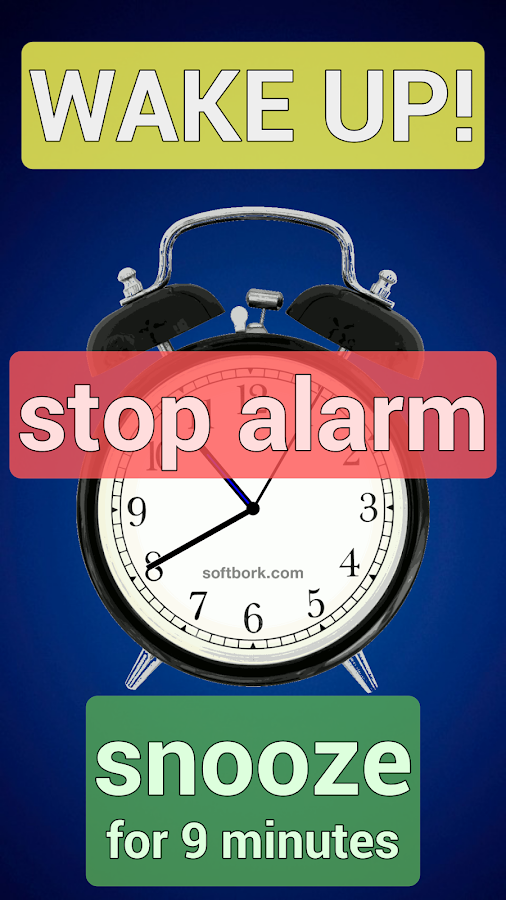 Simplest Alarm-clock Ever - screenshot