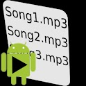 Just Playlists logo