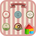 Vintage label Dodol Theme