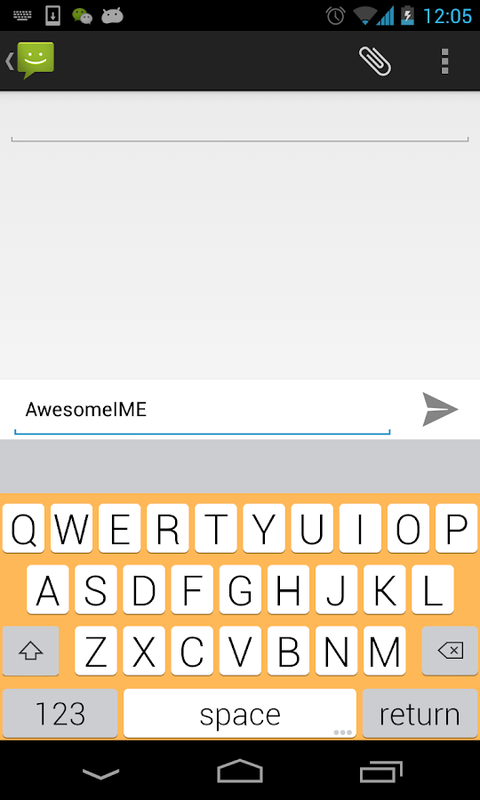 YouType - Flat Keyboard- screenshot