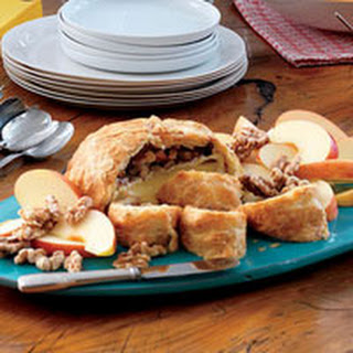 Baked Brie with Toasted Walnuts.