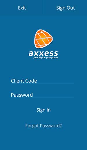 Axxess Client Control Panel
