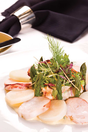 Regent-Seven-Seas-Lobster-salad - A fresh lobster salad available in the Prime 7 restaurant on Seven Seas Voyager.