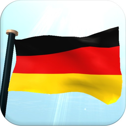 Germany Flag 3D Free Wallpaper