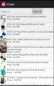 Kstyle Online Shop screenshot 2